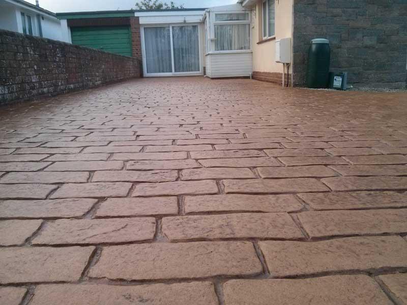 pavimento de concreto pavimentado