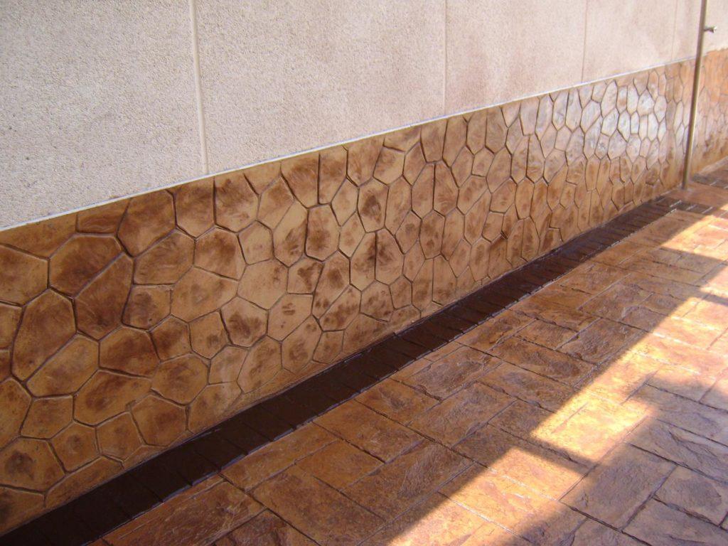 hormigon impreso elegante Zaragoza 1