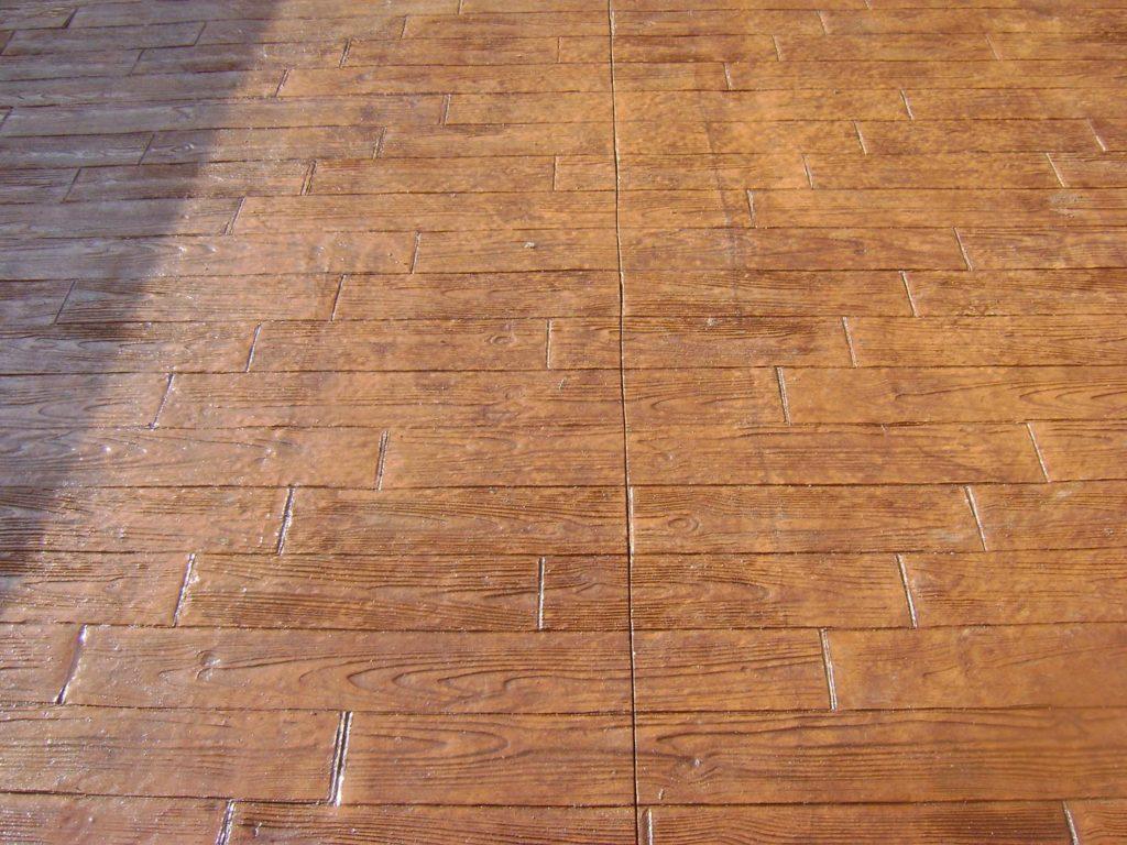 pavimento impreso en Avila 2