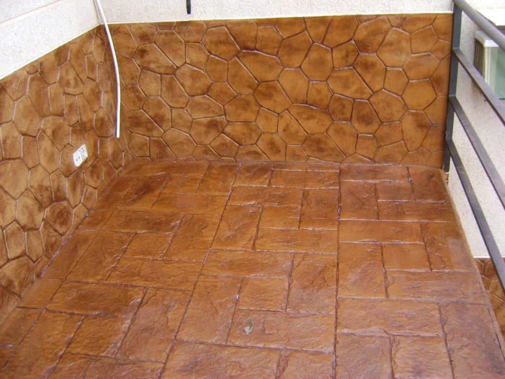 pavimento impreso y pulido Salamanca