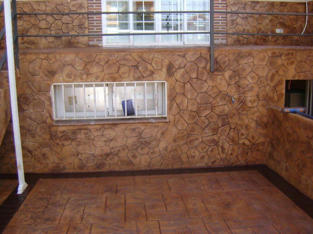 pavimento impreso y pulido en Avila