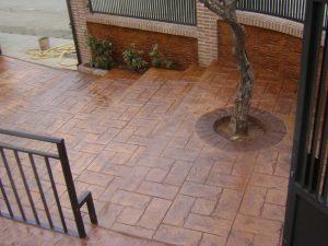 hormigon impreso Guadalajara